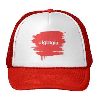 HASHTAG LGBTQIA MESH HATS