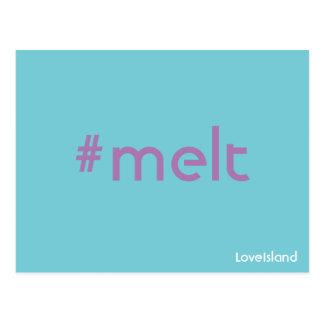Hashtag Melt Love Island Postcard