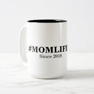Hashtag Mom Life mug