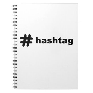 # hashtag notebook