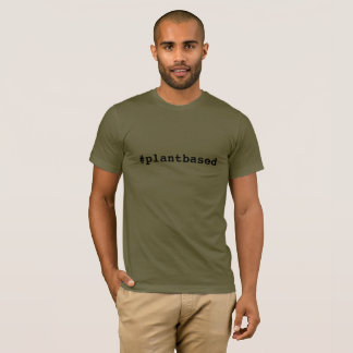 Hashtag Plantbased Men's T-shirt