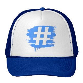 HASHTAG SYMBOL CAP