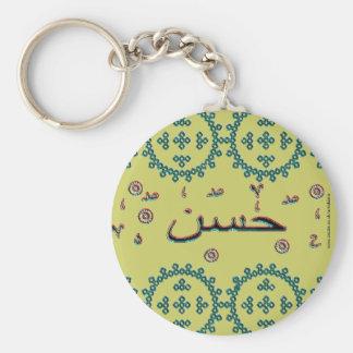 Hassan Hasan arabic names Key Ring
