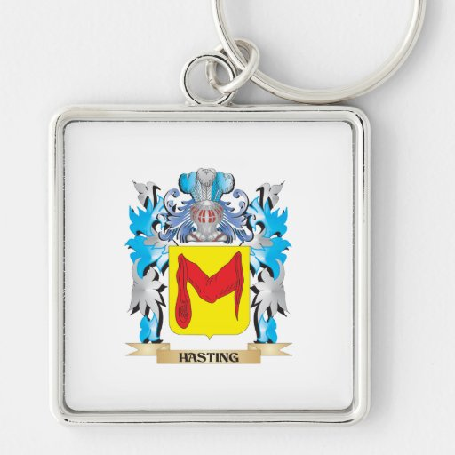 Hasting Coat of Arms - Family Crest Keychains