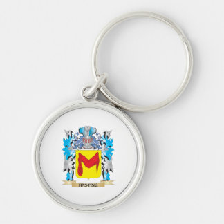 Hasting Coat of Arms - Family Crest Keychain