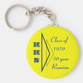 Hastings class of 1959 50th reunion key ring
