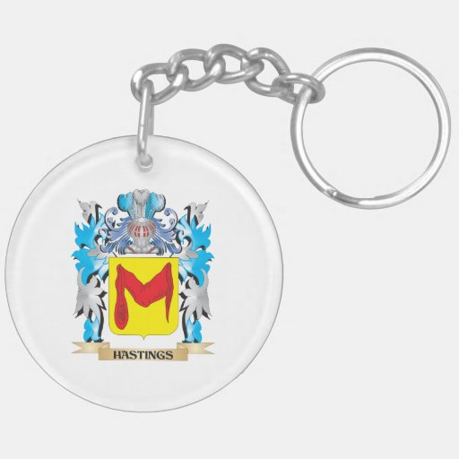 Hastings Coat of Arms - Family Crest Keychains