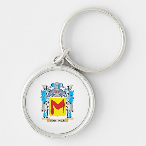 Hastings Coat of Arms - Family Crest Key Chains