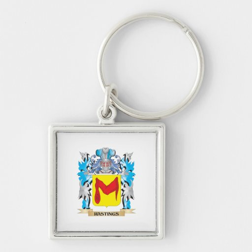 Hastings Coat of Arms - Family Crest Keychain