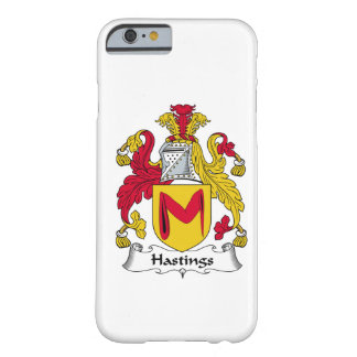 Hastings Family Crest Barely There iPhone 6 Case