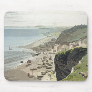 Hastings, from the East Cliff, from 'A Voyage Arou Mouse Mat