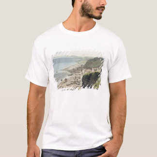 Hastings, from the East Cliff, from 'A Voyage Arou T-Shirt