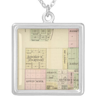 Hastings, Nebraska Silver Plated Necklace