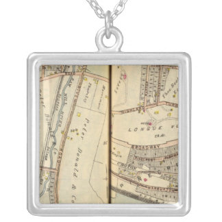 Hastings, New  York Silver Plated Necklace