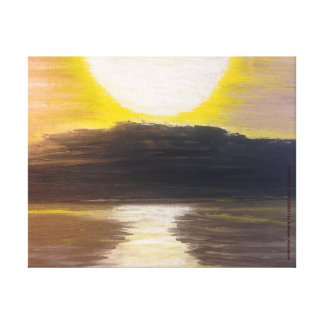 Hastings On Hudson Painting Stretched Canvas Prints