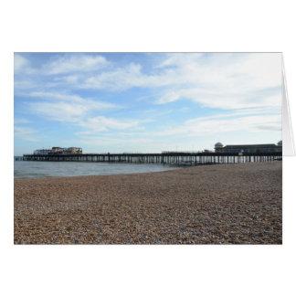 Hastings Pier Card