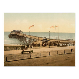 Hastings Pier, Hastings, Sussex, Archival print