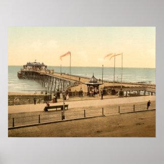Hastings Pier, Hastings, Sussex, Archival print