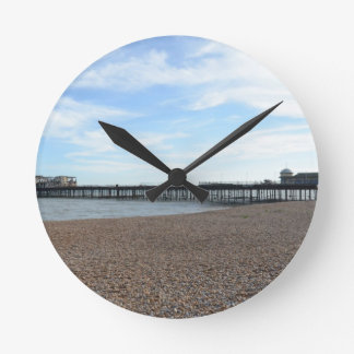 Hastings Pier Round Clock