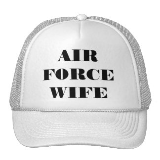 Hat Air Force Wife
