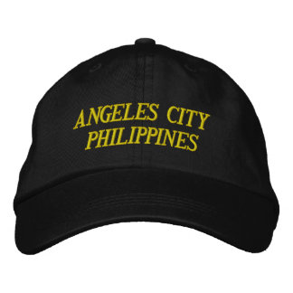 HAT ANGELES CITY PHILIPPINES BASEBALL CAP