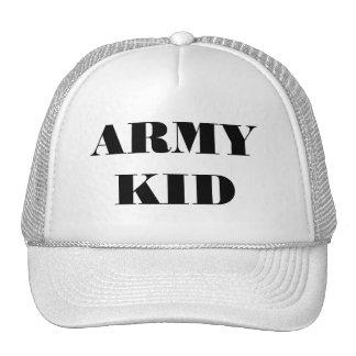 Hat Army Kid