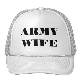 Hat Army Wife