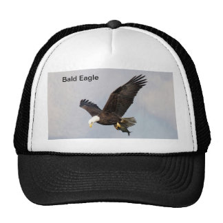 Hat/ Bald Eagle with fish