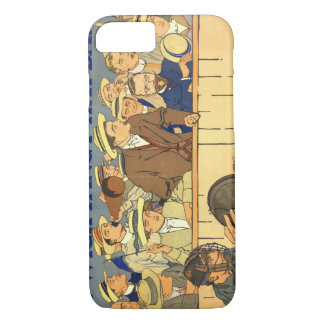 Hat-Band Advertising Poster 1910 iPhone 7 Case