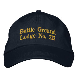 Hat Battle Ground Embroidered Baseball Caps