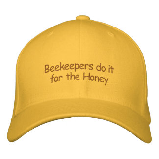 Hat - Beekeepers do it for the Honey Baseball Cap