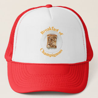 Hat, Breakfast of Champignons Trucker Hat