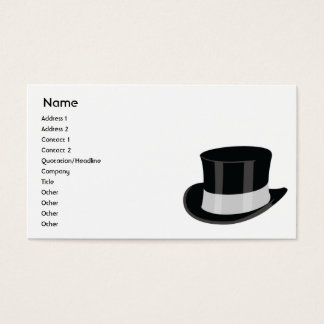 Hat - Business Business Card