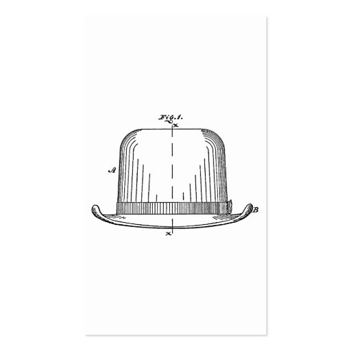 Hat Business Card Templates