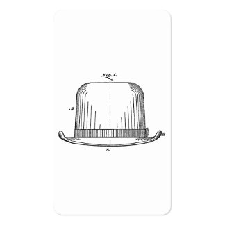 Hat Double-Sided Standard Business Cards (Pack Of 100)