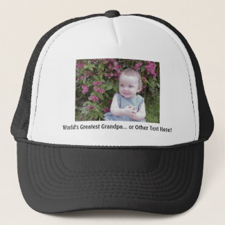 *HAT/CAP: Customize that perfect gift! Trucker Hat