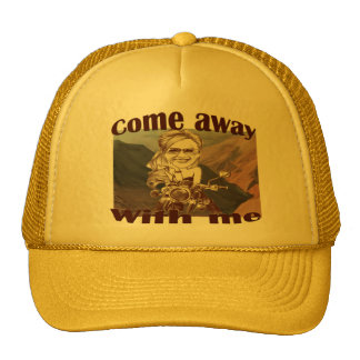 Hat-COME AWAY WITH ME Cap