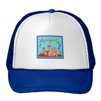 """Hat: """"Congratulations"""""""