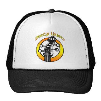 Hat Dirty Linen logo orange & yellow