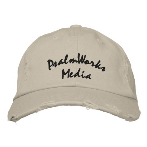 Hat Distressed PWM Embroidered Baseball Cap