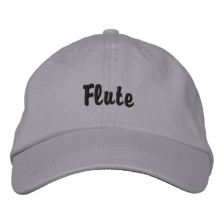 Hat (emb) - Musical Instrument Embroidered Cap