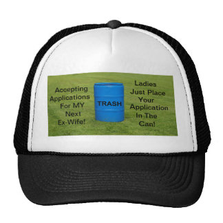 Hat/ Ex-wife humor Cap