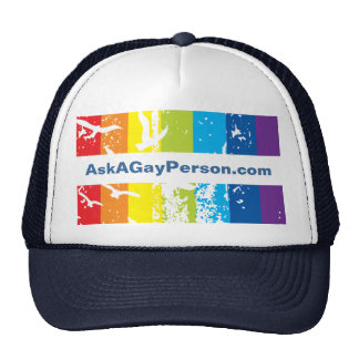 Hat- Gay Theme Template Cap