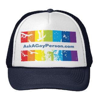 Hat- Gay Theme Template Cap