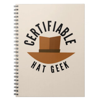 Hat Geek Notebook