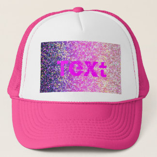 Hat Glitter Graphic Background