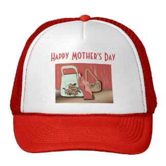 "Hat ""happy Mother's day"""