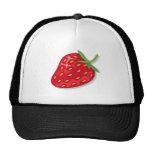 Hat: juicy red strawberry cap