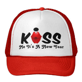 Hat Kiss Me It's A New Year