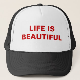 Hat - LIFE IS BEAUTIFUL